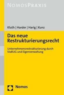 David Kluth: Das neue Restrukturierungsrecht, Buch