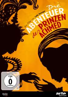 Die Abenteuer des Prinzen Achmed, DVD