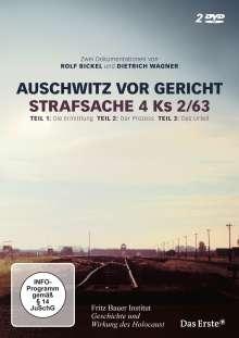 Auschwitz vor Gericht - Strafsache 4 Ks 2/63, 2 DVDs