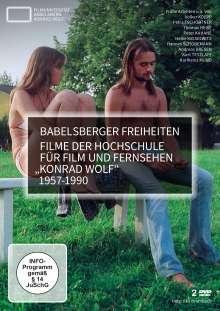 Babelsberger Freiheiten - Filme der Hochschule für Film und Fernsehen Konrad Wolf 1957-1990, 2 DVDs