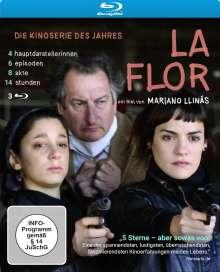 La Flor (OmU) (Blu-ray), 3 Blu-ray Discs