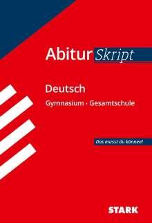 Fritz Schäffer: Abiturskript Deutsch, Buch