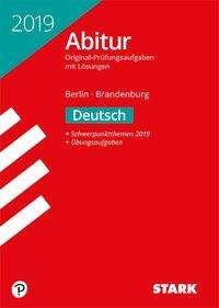 Abiturprüfung Berlin/Brandenburg 2019 - Deutsch, Buch