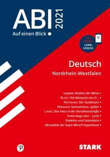 STARK Abi - auf einen Blick! Deutsch NRW 2021, Buch