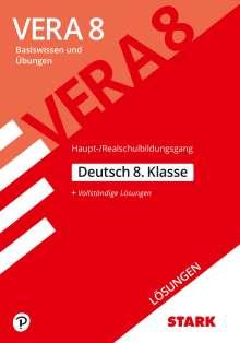 Lösungen zu VERA 8 Testheft 1: Haupt-/Realschule - Deutsch, Buch