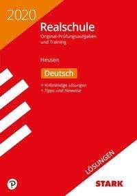 Lösungen zu Original-Prüfungen und Training Realschule 2020 - Deutsch - Hessen, Buch