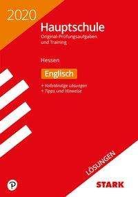 Lösungen zu Original-Prüfungen und Training Hauptschule 2020 - Englisch - Hessen, Buch