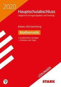 Lösungen zu Original-Prüfungen und Training Hauptschulabschluss 2020 - Mathematik 9. Klasse - BaWü, Buch