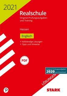 STARK Lösungen zu Original-Prüfungen und Training Realschule 2021 - Englisch - Hessen, Buch