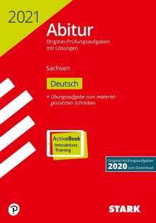 STARK Abiturprüfung Sachsen 2021 - Deutsch GK/LK, 1 Buch und 1 Diverse