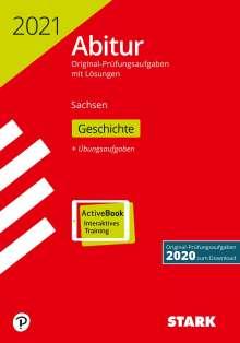 STARK Abiturprüfung Sachsen 2021 - Geschichte GK/LK, 1 Buch und 1 Diverse