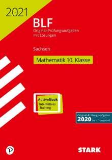 STARK BLF 2021 - Mathematik 10. Klasse - Sachsen, 1 Buch und 1 Diverse