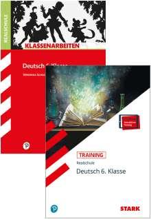Marion von der Kammer: STARK Deutsch 6. Klasse Realschule - Klassenarbeiten + Training, 1 Buch und 1 Diverse