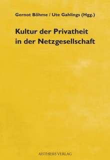 Kultur der Privatheit in der Netzgesellschaft, Buch