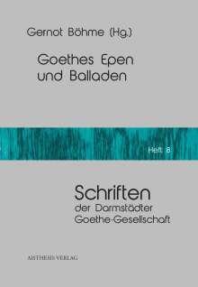 Goethes Epen und Balladen, Buch