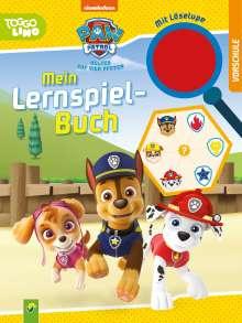 Paw Patrol Mein Lernspielbuch mit Löselupe, Buch