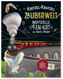Katharina Bensch: Kritzel-Kratzel Zauberwelt - Inoffizielle Fan Art zu Harry Potter, Buch