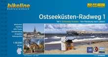 Bikeline Ostseeküsten-Radweg 1, Buch