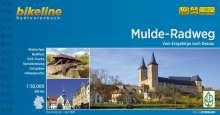 Bikeline Muldental-Radweg 1 : 50 000, Buch