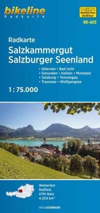 Bikeline Radkarte Österreich Salzkammergut 1 : 75. 000, Diverse