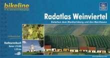 Bikeline Radatlas Weinviertel, Buch