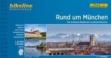 Bikeline Rund um München 1 : 50 000, Buch
