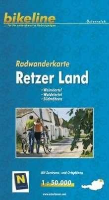 Bikeline Radkarte Österreich Retzer Land 1 : 50 000, Diverse