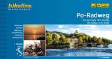 Bikeline Po-Radweg. 1:75.000, Buch