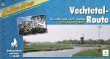 Bikeline Vechtetal-Route 1 : 50 000, Buch