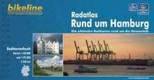 Bikeline Radatlas Rund um Hamburg, Buch