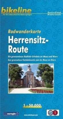 Bikeline Radwanderkarte Herrensitz-Route 1 : 50 000, Buch
