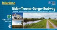 Bikeline Eider-Treene-Sorge-Radweg 1 : 50 000, Buch