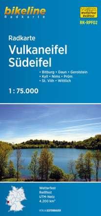 Bikeline Radkarte Deutschland Vulkaneifel 1 : 75 000, Diverse
