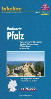 Bikeline Radkarte Deutschland Pfalz 1 : 75 000, Diverse