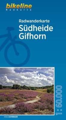 Bikeline Radwanderkarte Südheide Gifhorn 1:60.000, Diverse