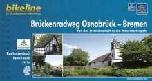 Bikeline Brückenradweg Osnabrück - Bremen 1 : 50 000, Buch