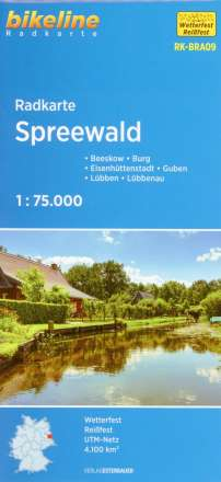 Bikeline Radkarte Deutschland Spreewald 1 : 75 000, Diverse