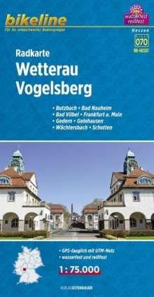 Bikeline Radkarte Deutschland Wetterau Vogelsberg 1 : 75 000, Diverse