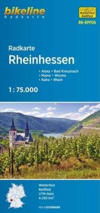 Bikeline Radkarte Rheinhessen 1 : 75 000, Diverse
