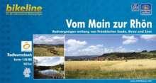 Bikeline Vom Main zur Rhön 1 : 50 000, Buch