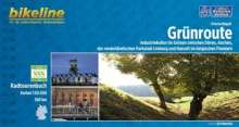 Grischa Begaß: Bikeline Grünroute 1 : 75 000, Buch