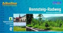 Bikeline Radtourenbuch Rennsteig-Radweg 1 : 50 000, Buch