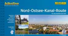Bikeline Nord-Ostsee-Kanal-Route 1 : 50 000, Buch