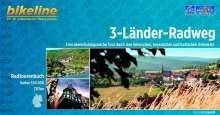 Bikeline Radtourenbuch 3-Länder-Radweg, Buch