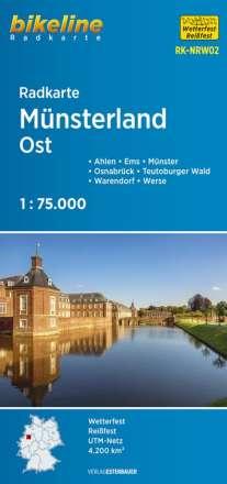 Bikeline Radkarte Münsterland Ost 1 : 75 000, Diverse