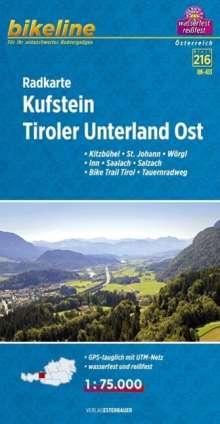 Bikeline Radkarte Kufstein, Tiroler Unterland Ost 1:75 000 (RK-A13), Diverse