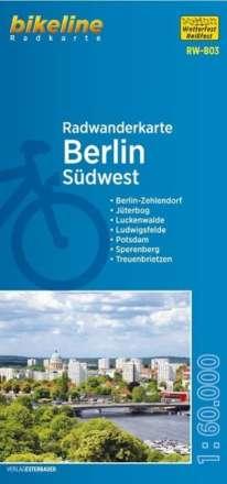 Bikeline Radwanderkarte Berlin Südwest 1 : 60 000, Diverse