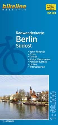 Bikeline Radwanderkarte Berlin Südost 1 : 60 000, Diverse