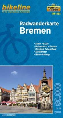 Bikeline Radwanderkarte Bremen 1 : 60 000, Diverse