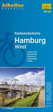 Radwanderkarte Hamburg West 1 : 60 000 RW-HH1, Diverse